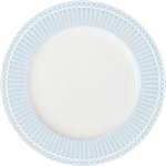 GreenGate Alice Pale Blue frokosttallerken